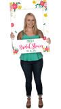 Floral Custom Photo Prop Medium / FAST , CrowdSigns - 3