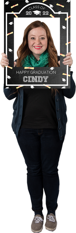 Graduation Custom Photo Prop  , CrowdSigns - 1