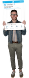 Twitter Custom Photo Prop Medium / FASTER , CrowdSigns - 1