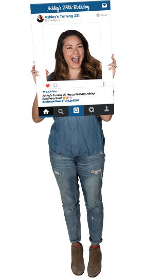 Instagram (Throwback) Custom Photo Prop  , CrowdSigns - 1