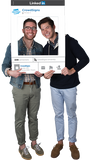 Linkedin Custom Photo Prop Medium / FAST , CrowdSigns - 3