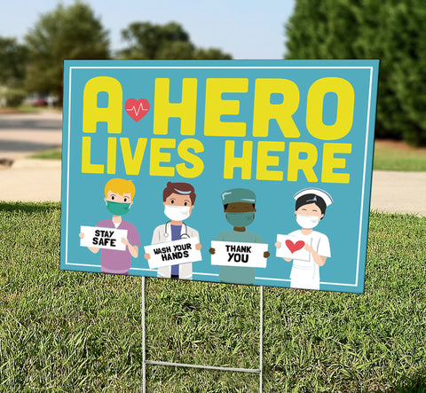 A Hero Lives Here (Healthcare)