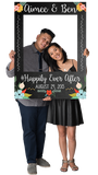 Chalkboard (Floral) Custom Photo Prop Large / FAST , CrowdSigns - 3