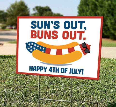 Sun's Out, Buns Out (4th of July)