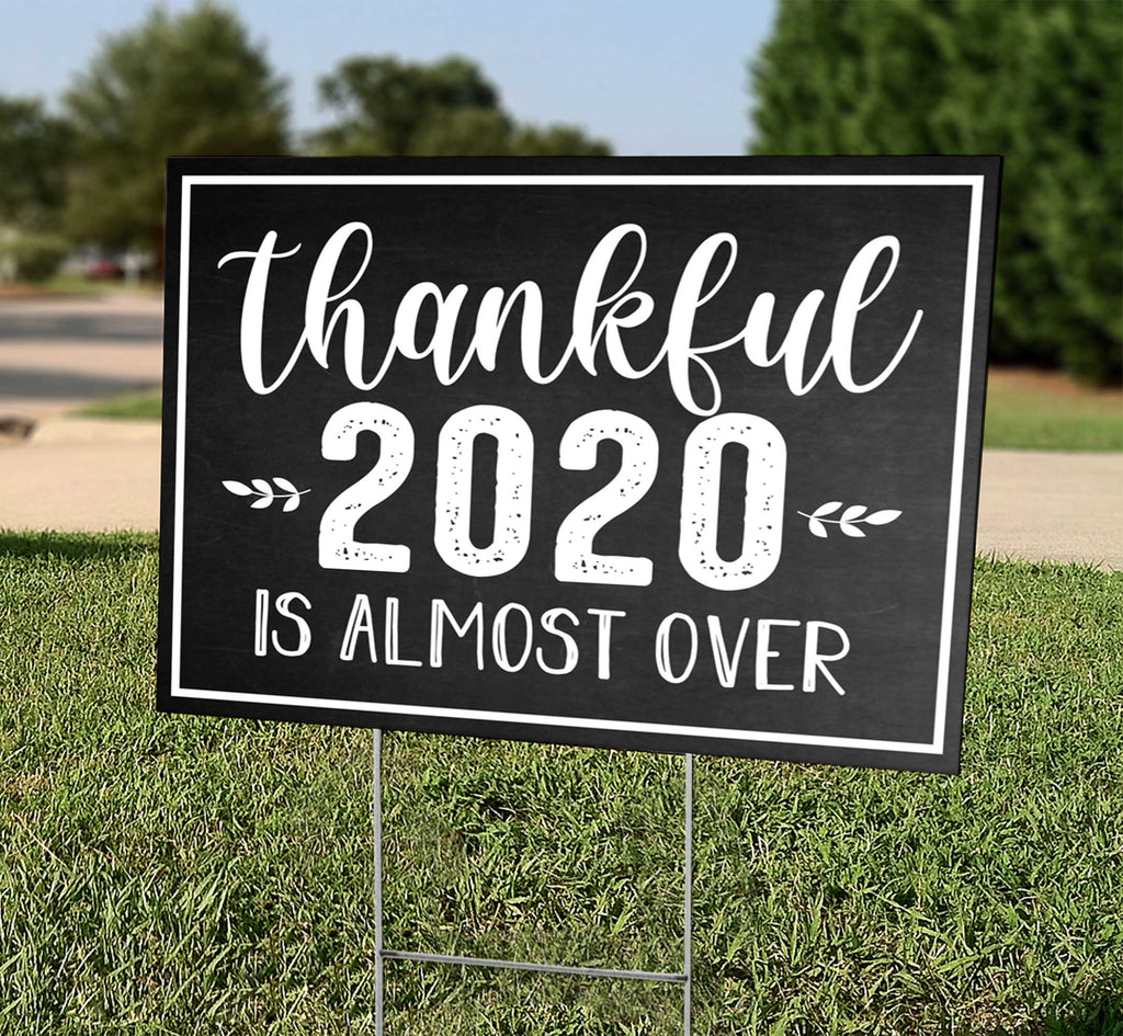 Thankful 2020 is Almost Over
