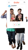 Tinder Custom Photo Prop Large / FAST , CrowdSigns - 4