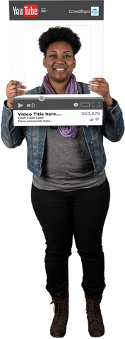 YouTube Custom Photo Prop  , CrowdSigns - 1