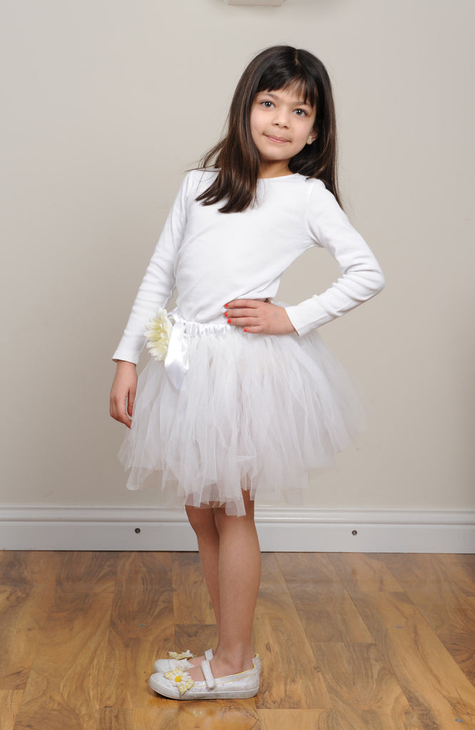 Tutu Flower Girl Skirt