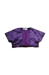 Cadbury Purple Satin Shrug or Bolero