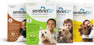 Sentinel® Flavor Tabs for Dogs