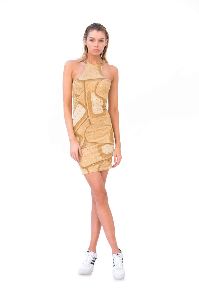 Racer Front Band-Aid Dress