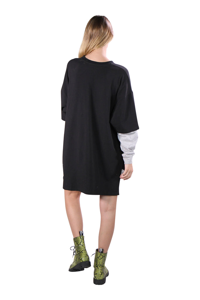 Long Sleeve Oversized 'Paranoid' T-shirt