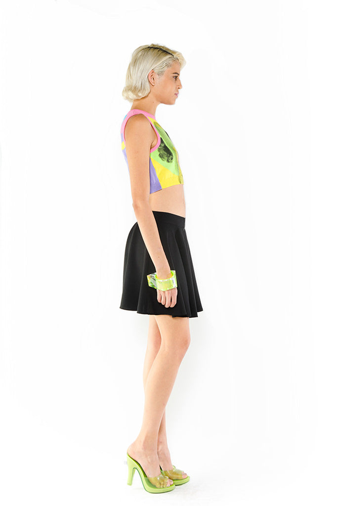 Knit Pinup Crop Top