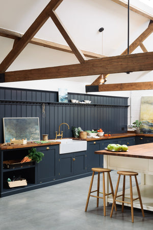 Blue Blue kitchen....