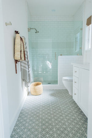 Get the Look of Cement tile with Ceramic