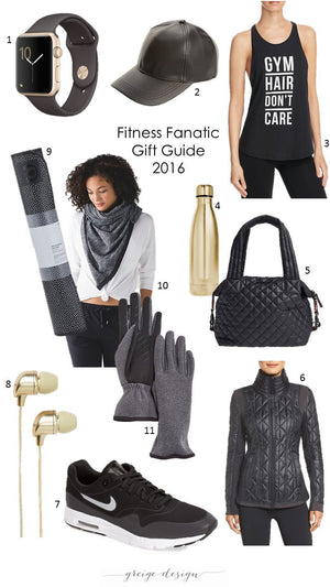 Gift Guide 2016: Fitness Fanatic
