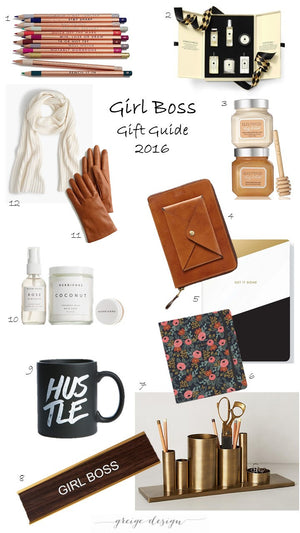 Gift Guide 2016: Girl Boss