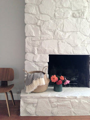 Apartment Therapy: Fireplace Makeover