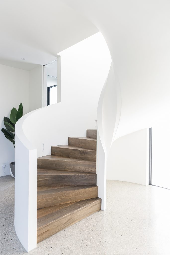 Picture of: Inspiration The Curved Staircase Greige Design