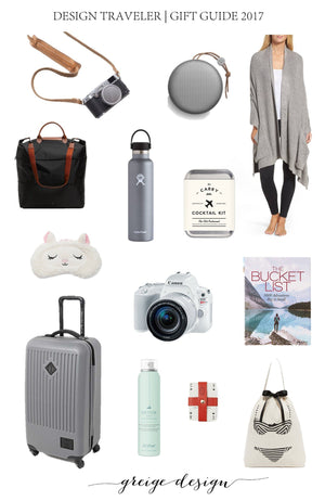 Design Traveler | Gift Guide 2017