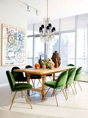 Crushing On: Green Seating