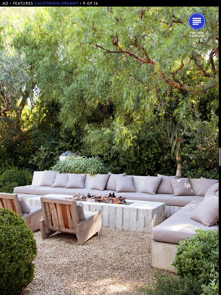 Outdoor Bench Seating Greige Design