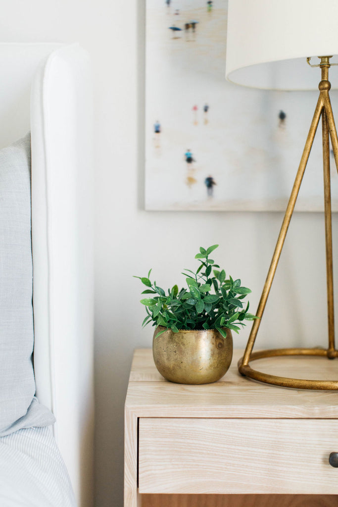 brass planters greige design shop + interiors brass table lamp