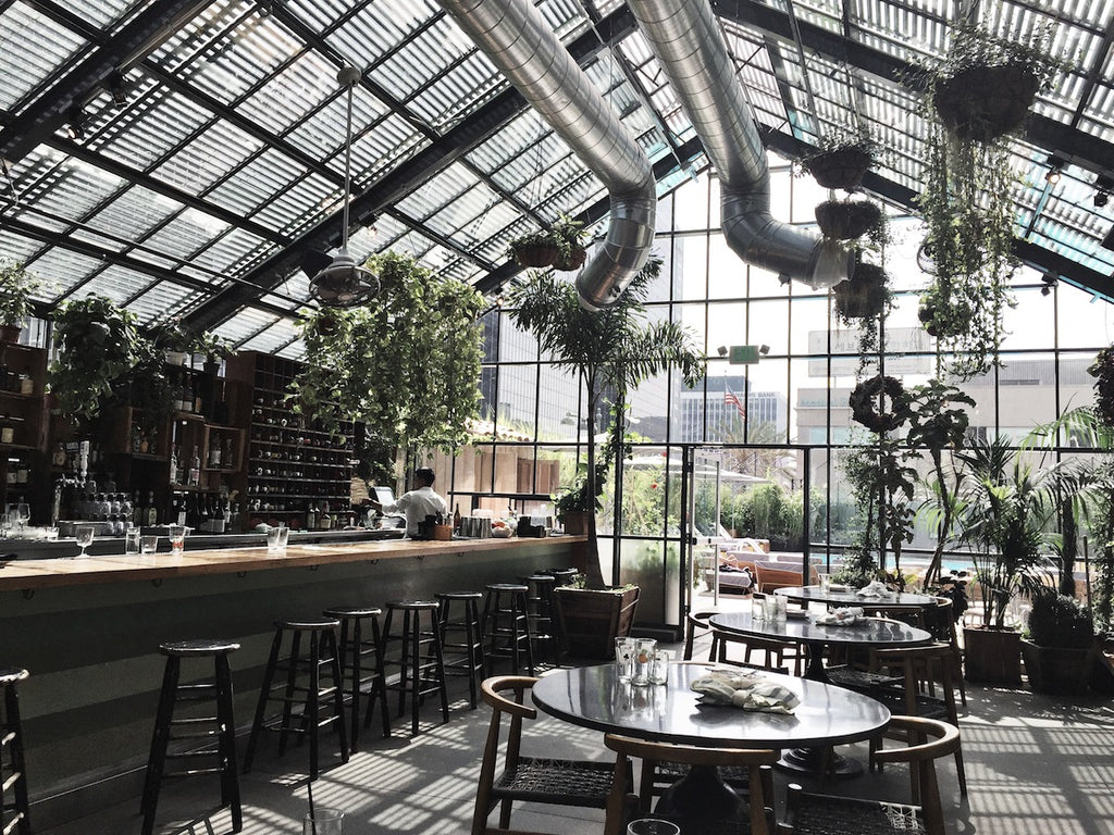 Commissary at the line hotel los angeles greige design for Design hotel los angeles