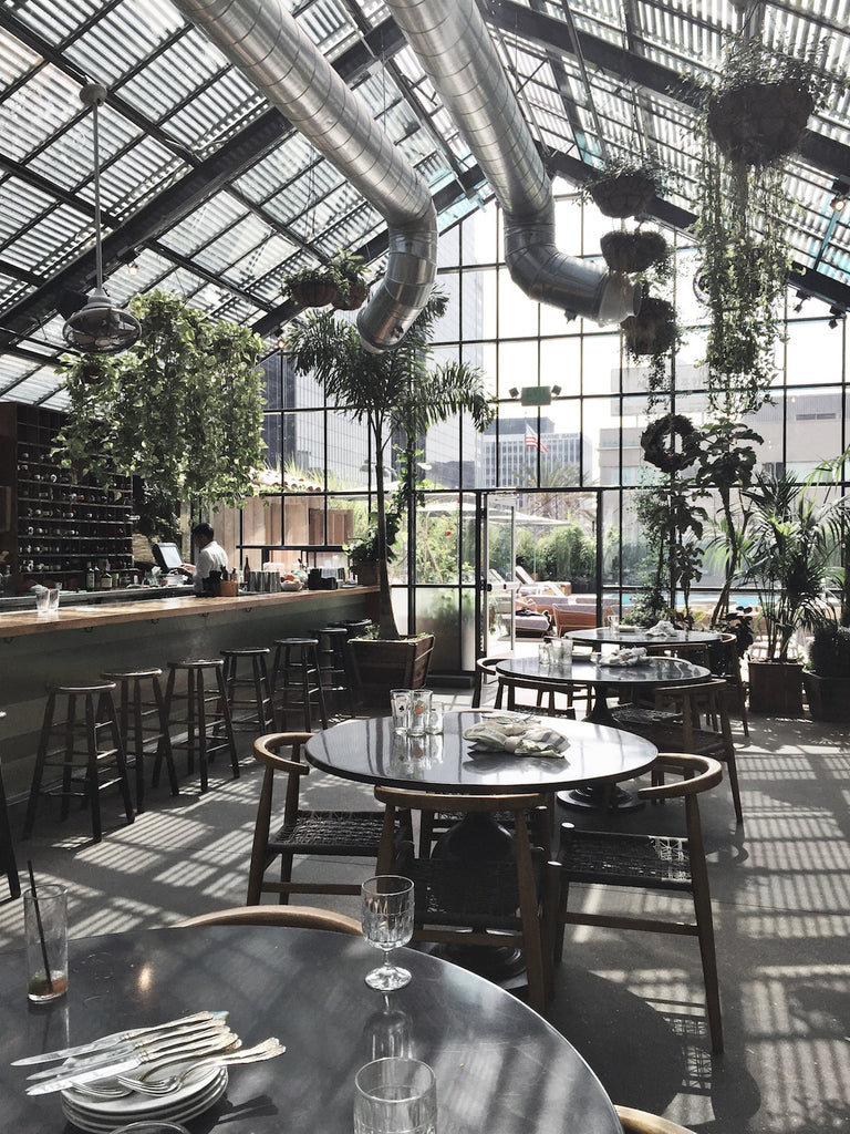 Commissary At The Line Hotel Los Angeles Greige Design
