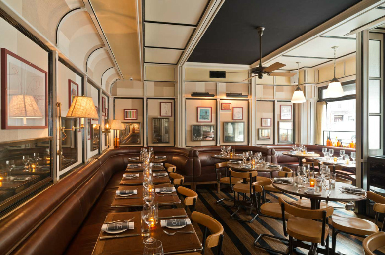 Stephen gambrel s first restaurant design cole nyc
