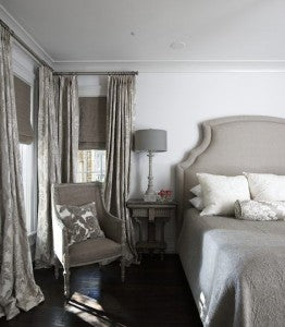 Greige Guest Suite By Tracery Interiors