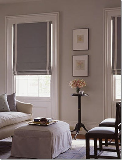 Well-known Grey and white roman shades – Greige Design VK64
