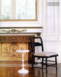 I Love The Faux Bois Tables And Lamps. I Think They Can Make Just The Right  Impact When They Are Not Overdone!