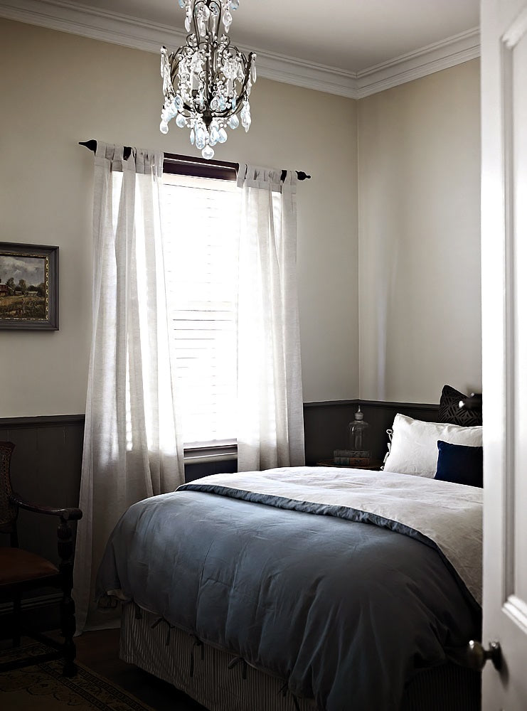 Dark Grey Walls Greige Design