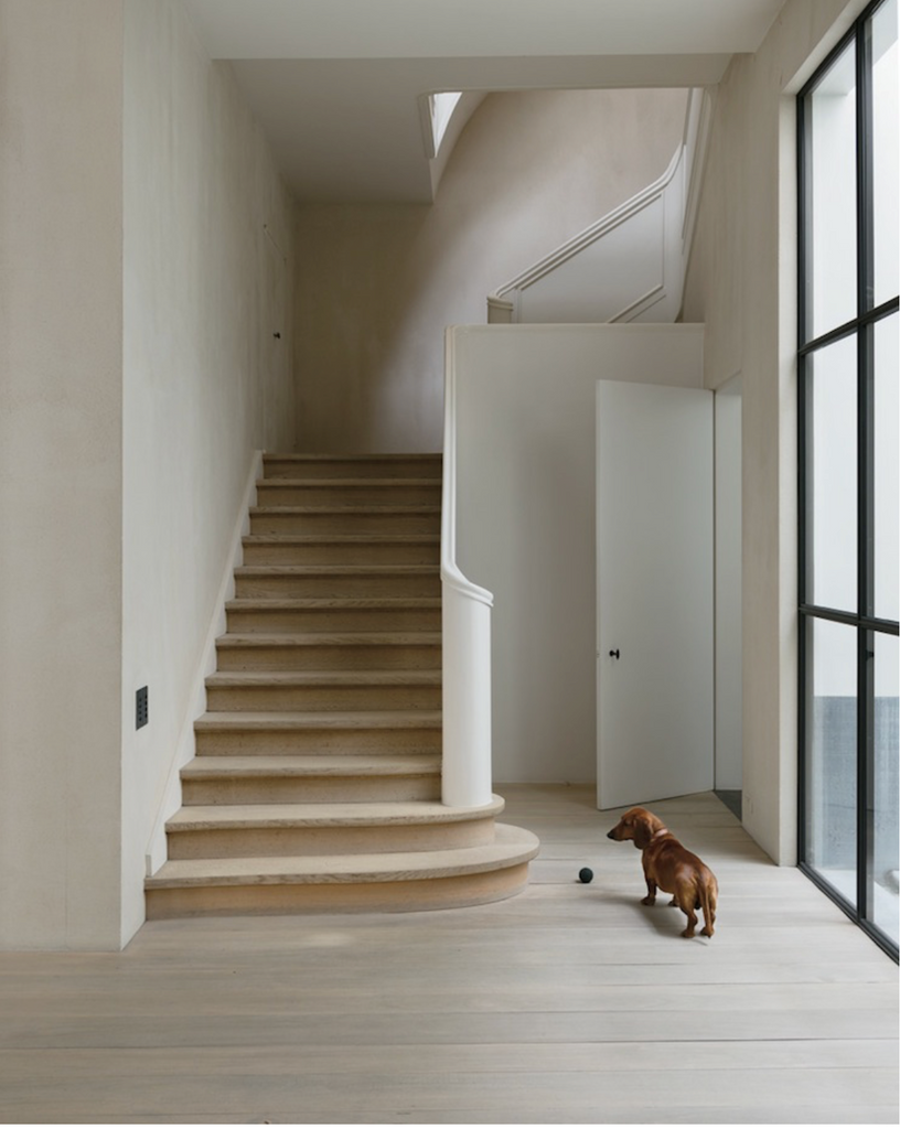 curved stair case Vincent Van Duysen