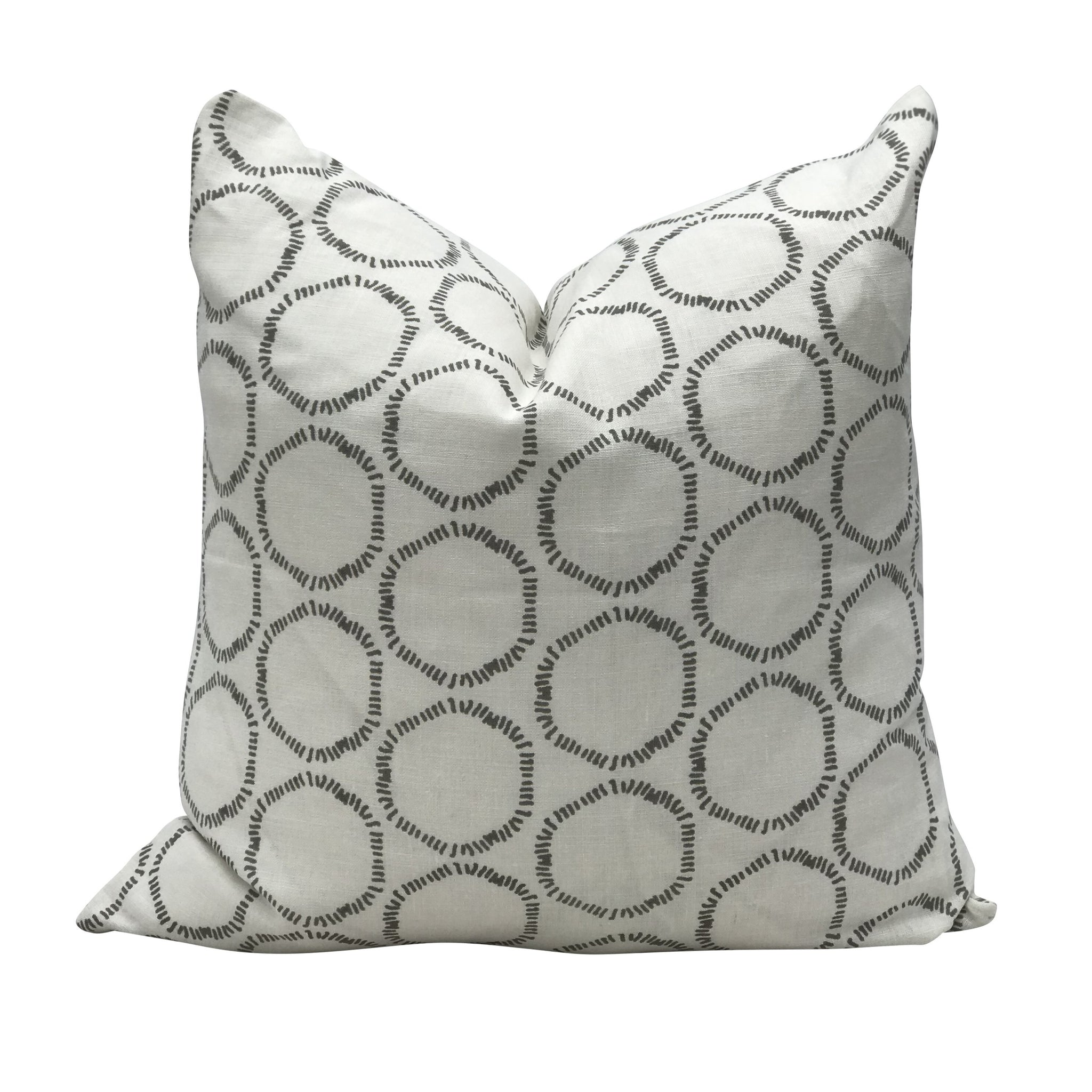 Astonishing Cape Pillow In Dove On Oyster Gmtry Best Dining Table And Chair Ideas Images Gmtryco