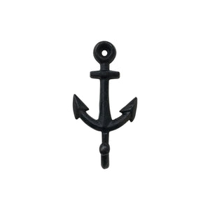 cast iron Anchor hook greige design shop + interiors