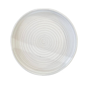 RV Pottery Modern Serving Plate Moonstone