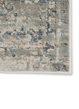 Caicos Rug light grey gargoyle power loomed from Turkey greige design shop + interiors jaipur