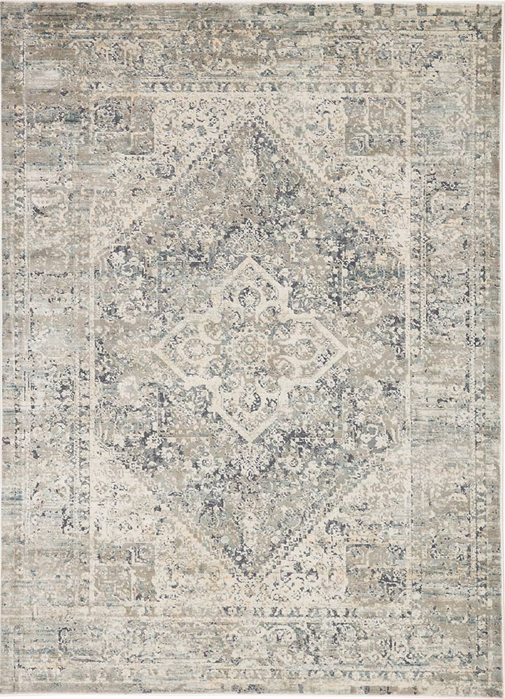 Caicos Rug light grey gargoyle power loomed from Turkey greige design shop + interiors