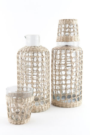 Ria Seagrass Large Cage Carafe