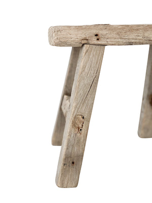 Miniature Elm Stool
