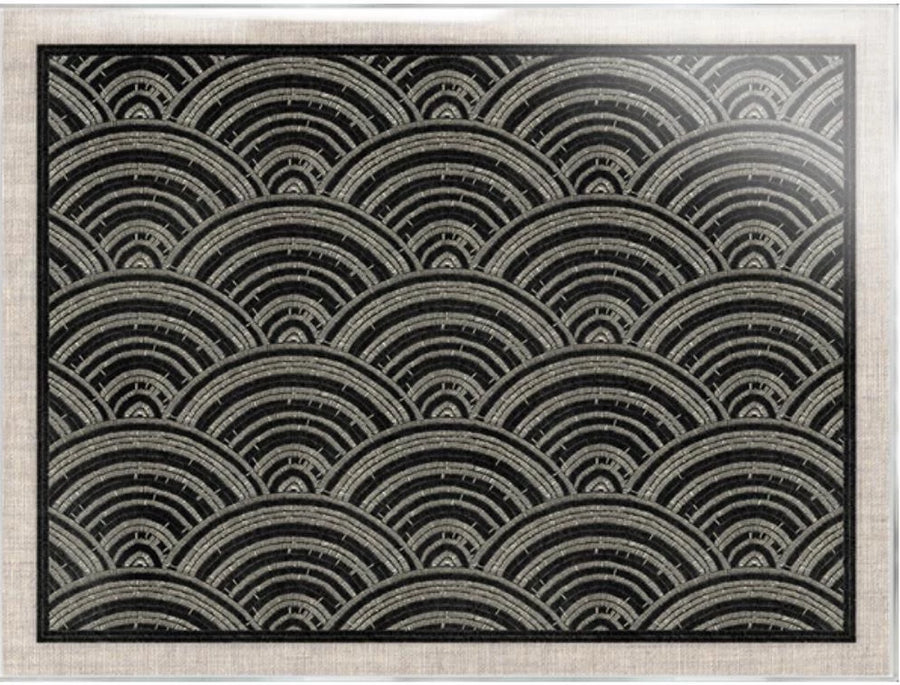 Black and White Tapestry I