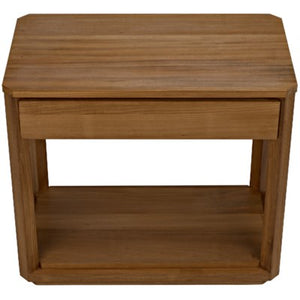Devlin open side table