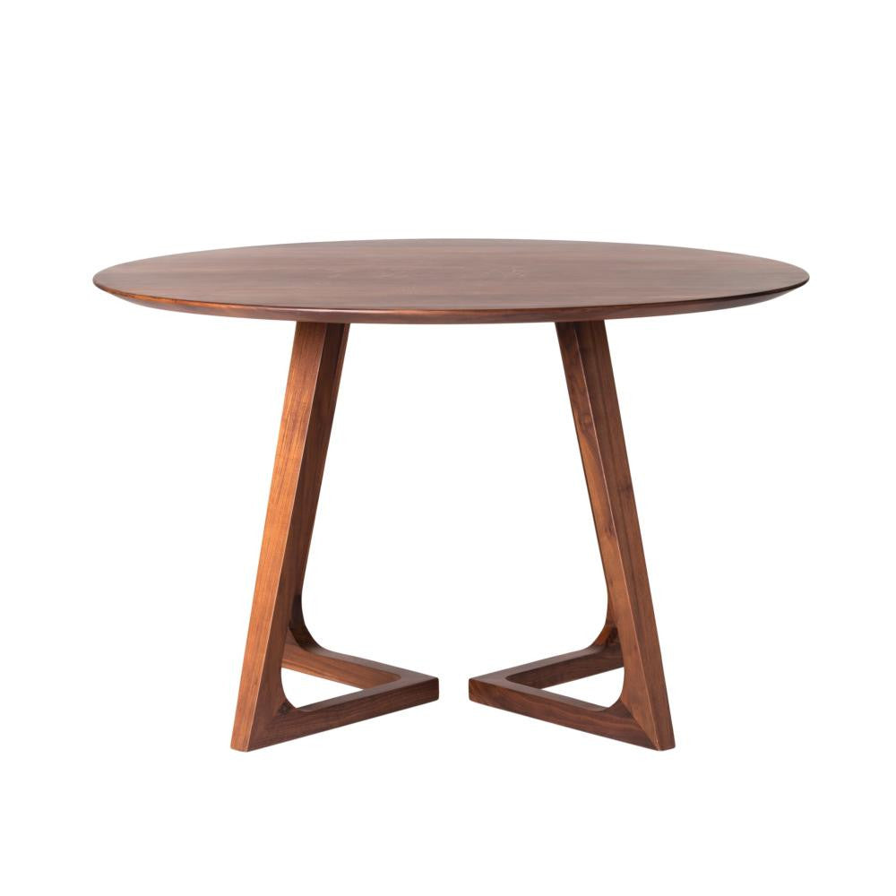 "walnut dining table 47"" griege design shop + interiors"