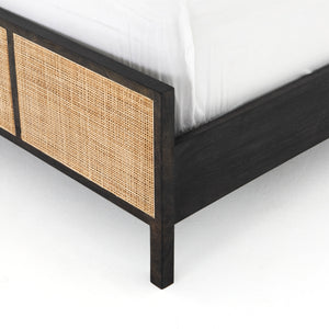 Sydney Bed- Black Wash