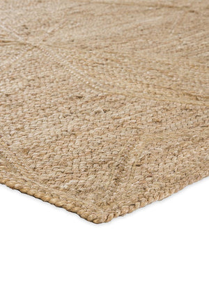 Jute Indian Braided Abel Rug Brwon Natural greige design shop + interiors
