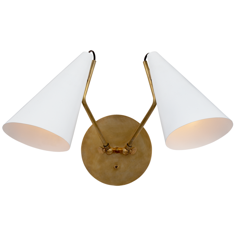 Clemente Double Sconce- 3 colors