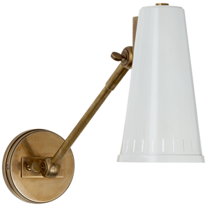Antonio Adjustable One Arm Wall Lamp- 2 colors