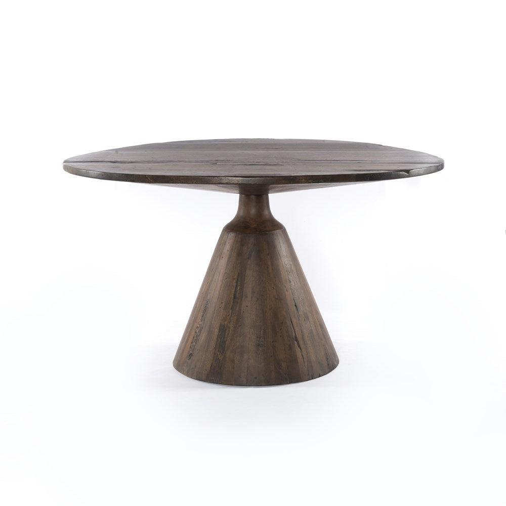 Bronx dining table four hands furniture Indian India wood greige design shop + interiors